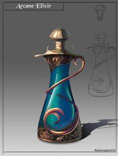 Arcane elixir by RobertoGatto on DeviantArt