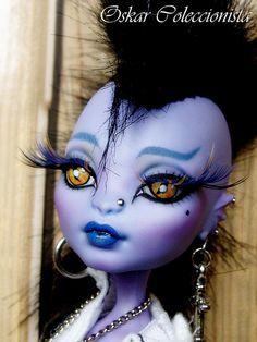Punk Sauria Monster High OOAK by Monsterhighooak