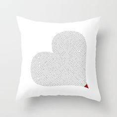 Buy Heart (15) Throw Pillow by luberlu. Worldwide shipping available at Society6.com. Just one of millions of high quality products available.