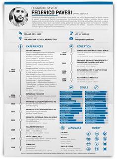 Federico Pavesi Curriculum Vitae on Behance