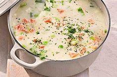 Schwedische Sommersuppe, ein raffiniertes Rezept aus der Kategorie Fisch. Bewertungen: 54. Durchschnitt: Ø 4,5.