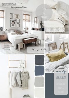 Bedroom-Inspiration-by-Avenue-Lifestyle.png pixels Love these colours for our bedroom and generally for everything Bedroom Design Inspiration, Modern Bedroom Design, Interior Design Living Room, Design Ideas, Home Bedroom, Bedroom Decor, Bedroom Makeover Before And After, Mood Board Interior, Bedroom Wall Colors