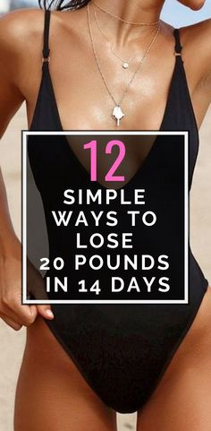 12 Really Simple Ways To Lose 20 Pounds In 14 Days Need to lose weight? The more tips you use, the more weight you'll lose. If you start now, in a week, you'll look and feel way lighter and in two weeks, you'll have reached your goal - 20 pounds slimmer! Ways To Loose Weight, Workout To Lose Weight Fast, Start Losing Weight, Lose Weight In A Week, Need To Lose Weight, Diet Plans To Lose Weight, Fast Weight Loss, Weight Gain, Fat Workout