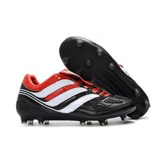 High Quality Cheap Adidas Predator Precision FG Football Boots Black White Red Adidas Soccer Shoes With Cheap Pirce Sale Online Adidas Soccer Shoes, Soccer Boots, Adidas Football, Football Shoes, Nike Soccer, Adidas Predator, Cheap Soccer Cleats, Snowboard Girl, Black White Red