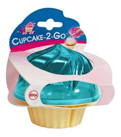 Evriholder C2G-B Cupcake To Go, Turquoise >>> Check this awesome image : Baking tools