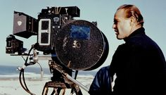 "Marlon Brando directing his movie ""One Eyed Jacks"""