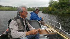 Partie de pêche en barque
