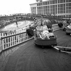 Risultati immagini per steeplechase luna park dreamland map Vintage New York, Brooklyn New York, New York City, New York Photos, Coney Island, The New Yorker, Great Friends, Historical Photos, Parks