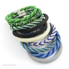 Męskie Bransoletki z koralików Peyote Beading, Jewelery, Beads, Bracelets, Handmade, Jewlery, Beading, Jewels, Hand Made