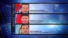 Visitors Andreas Mogensen and Aidyn Aimbetov will leave ISS on sept. 11. Sergei Volkov will stay on board as part of Expedition 45.