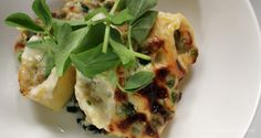 My homemade crab cannelloni dish is easy to make and serves 4 hungry people