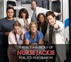Nurse Jackie Coming Back for Season Nurse Jackie, Peter Facinelli, Will And Grace, Seinfeld, Pick One, Season 4, Bigbang, Comebacks, Tv Shows