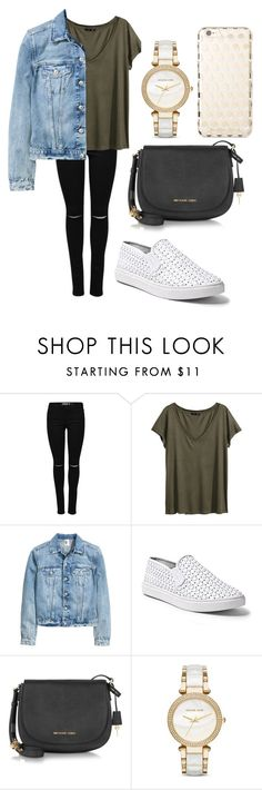 """casual fall outfit"" by fashionblogger2122 on Polyvore featuring H&M, Steve Madden and Michael Kors"