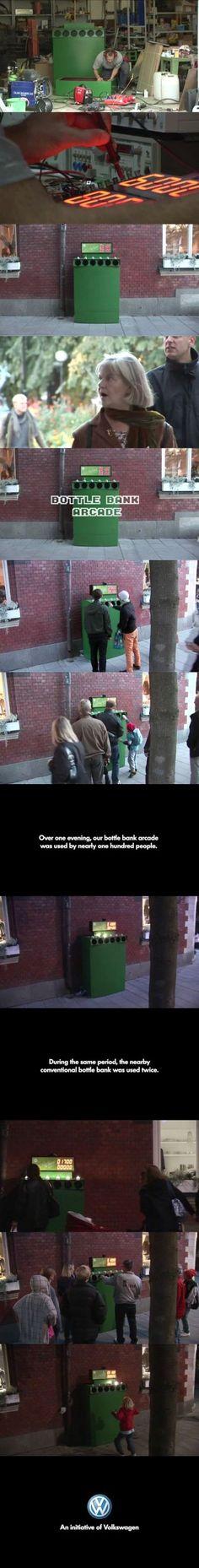 Bottle Bank Arcade Machine