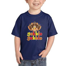 ToddlerInfant Gobble Gobble  Thanksgiving Tshirt 24 Months NAVY BLUE * Continue to the product at the image link.Note:It is affiliate link to Amazon.