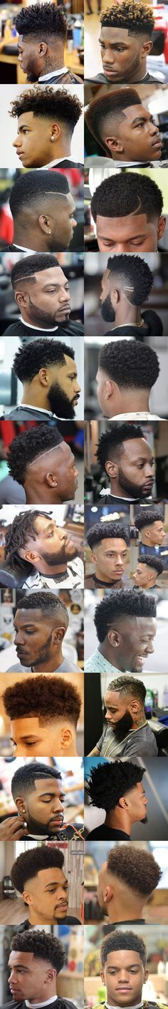 Fade Haircuts For Black Men – Best Types of Fades For Black Guys - haircut_pinterey Black Boys Haircuts, Black Men Hairstyles, My Hairstyle, Cool Haircuts, Haircuts For Men, Hairstyles With Bangs, Braided Hairstyles, Bangs With Medium Hair, Medium Hair Cuts