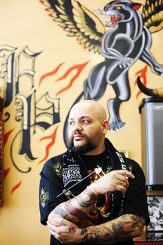 Rob Benavides San Diego Tattoo Artist