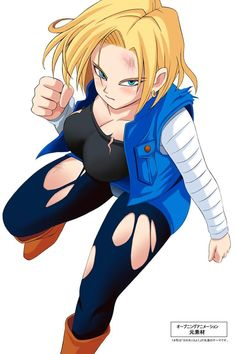 androide n 18 | Android 18
