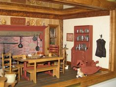 miniature kitchens A Place In Time .... -18..25 qw