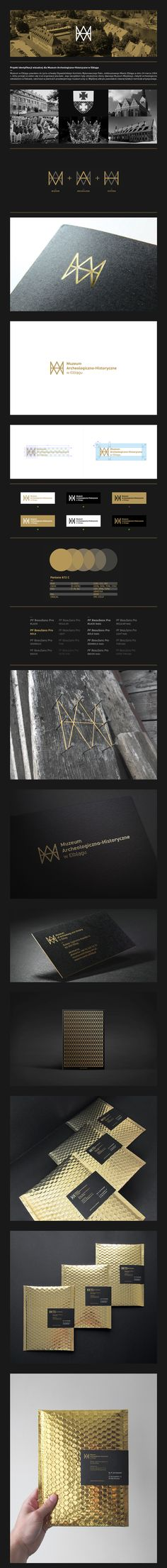 CONTESTProject 2014—Design of visual identification for Museum of Archeology and History in Elblag.