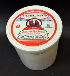 Hometown Provisions' Toscana Ovolini-We carry every size of fresh mozzarella from small pearl sized-noccioline, cherry sized-ciliegine or 8oz balls. This week we are featuring our Ovoline Fresh Mozzarella, which is an egg sized ball. This mozzarella is delicious in antipasti, melted into pasta dishes, or salad caprese or however your cooking creativity takes it!