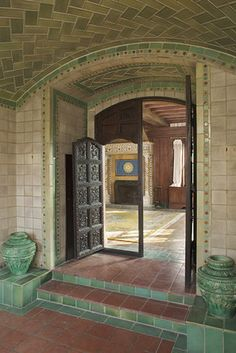 Designed by Rafael Guastavino Jr., this Long Island home features extensive tile work and the vaulted ceilings for which Mr. Guastavino and ...