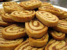 Rolled fig cookies