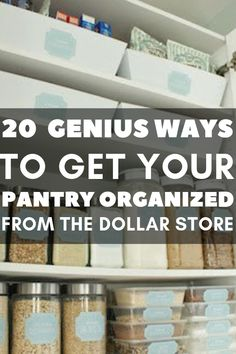 Creative dollar store kitchen hacks to the rescue!   I love all these creative home organization ideas with everything from pantry organization to Tiered Storage from plates.   There are dollar store organization on this page  as well as dollar store freezer organization.   Such clever and creative kitchen organization ideas!  #kitchenorganization #corganization #pantryorganization
