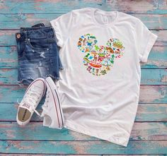 c45cd6fe Toy Story collage Mickey Ears T-Shirt Disney Parks Toy Story Land Family  Shirts Unisex