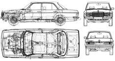 Mercedes-Benz W 123 Sedan blueprints free - Outlines Mercedes Benz Forum, Mercedes W123, Mercedes Benz Trucks, Car Drawing Pencil, Volkswagen Phaeton, Truck Detailing, M Benz, Benz E Class, Classic Mercedes