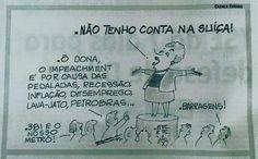 Lula e o PT estão loucos para que cassem o mandato de Dilma com o impeachment. Ela também. | WooZap