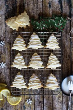 Lemon Shortbread Cookies + 5 More Must Bake Shortbread Recipes - An Italian in my Kitchen Whipped Shortbread Cookies, Shortbread Recipes, Lemon Cookies, Cupcake Cookies, Cupcakes, Gooey Cookies, Yummy Cookies, Christmas Tree Cookies, Holiday Cookies