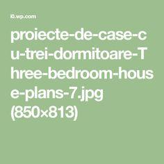 proiecte-de-case-cu-trei-dormitoare-Three-bedroom-house-plans-7.jpg (850×813)