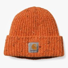Carhartt speckled orange beanie I dunno I just want 684058e06065