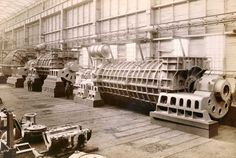 https://flic.kr/p/9EgZRy | Mauretania - Turbine Machinery | Turbine machinery for the Mauretania, in the erecting shop of the makers, the Wallsend Slipway & Engineering Company Limited.  The Mauretania was built by the shipbuilders Swan Hunter and Wigham Richardson Ltd, at the Wallsend shipyard and was one of the most famous ships ever built on Tyneside.  Ref: TWAS:DS.WS/143/2/2/A346F  (Copyright) We're happy for you to share this digital image within the spirit of The Commons. Please ci...