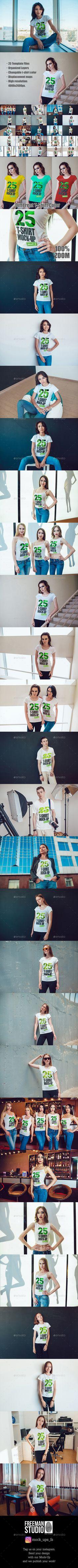 T-shirt design zeixs - 25 T Shirt Mock Up