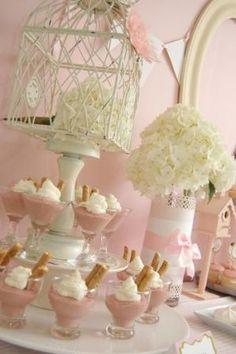 "Like the mini puddings! Cute ""nesting"" theme too"