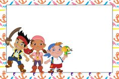 Tarjetas De Invitacion A Cumpleaños De Jake Y Los Piratas Para Mandar Por Whatsapp 5 HD Wallpapers