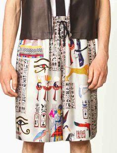 patternprints journal: PRINTS, PATTERNS AND DETAILS FROM RECENT PARIS FASHION WEEK (MENSWEAR SPRING/SUMMER 2015) / Jean Paul Gaultier