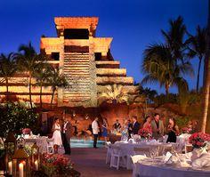 Wedding Reception at Ripples @atlantisresort Paradise Island, Bahamas