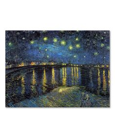 Another great find on #zulily! Van Gogh The Starry Night II Wall Art #zulilyfinds