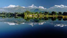 The Annapurna Range, Nepal