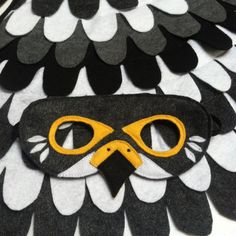 FALCON COSTUME // Wings and Mask: 0-24 months/ 2-5 by TreeAndVine