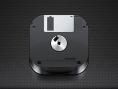 Floppy disk icon by Ioan Decean Jul 20, 2011 via dribbble 217984
