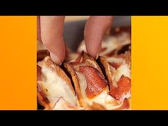 Mini Pizza Taco's - Twisted This would be fun for parties. Or game night. Or girls night in!!!