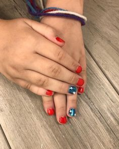 HAPPY 4th OF JULY 🇺🇸 #blushsalon_spa⠀ Nails B Happy 4 Of July, 4th Of July, Blush Nails, Salons, Spa, Instagram, Lounges, Independence Day, July 4th