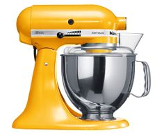 Artisan Mixer Yellow Pepper