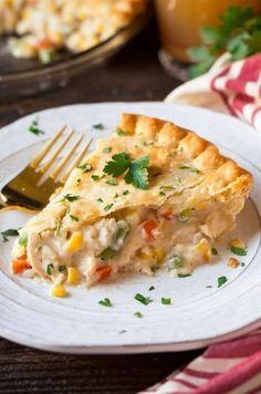 Shortcut Chicken (or Turkey) Pot PieFollow for recipesGet your Mein Blog: Alles rund um die Themen Genuss & Geschmack Kochen Backen Braten Vorspeisen Hauptgerichte und Desserts