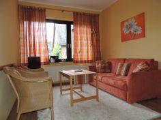 Wohnzimmer meiner Ferienwohnung Prälat