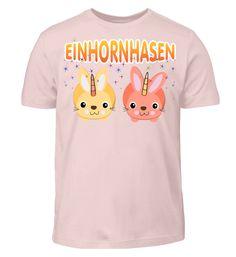 EINHORNHASEN - Girly Shirt T-Shirt Girly, Mens Tops, Fashion, Playground, Back Stitch, Kleding, Women's, Moda, Girly Girl